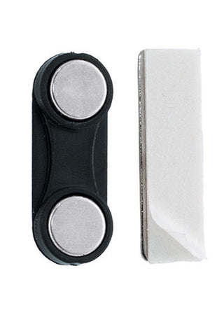 "Rectangular Magnetic Badge Attachment Bar, Zps,  1-1/4"" X 3/8"" (32Mm X 10Mm), W/Two Magnets (50/Pk)"