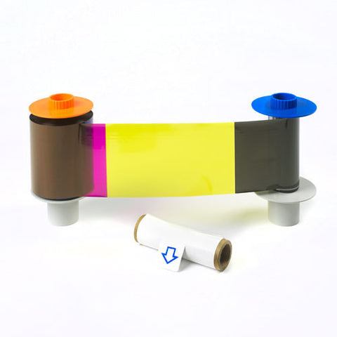 Fargo 84052 HDP5000 YMCKK colour ribbon, 500 prints