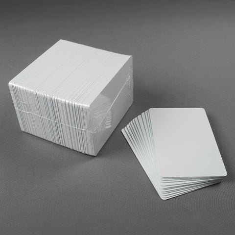 Thermatek䋢 CR80 15 mil Blank Cards (100/pk)