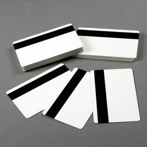 X-tek CR80 30 mil Blank Cards with HiCO Magnetic Stripe (100/pk)
