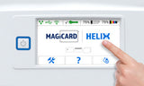 Magicard Helix Uno One-Sided Retransfer Card Printer