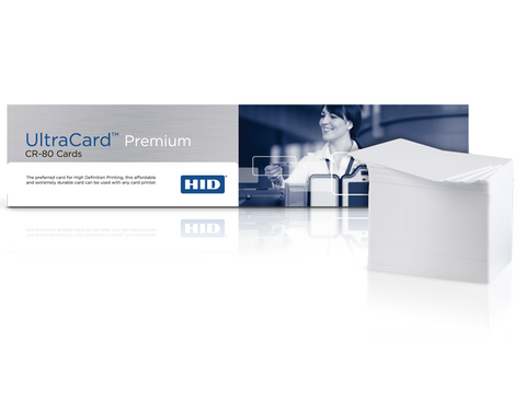 Ultracard Premium Composite CR80 30 mil Blank Cards with HiCo Magnetic Stripe (100/pk)