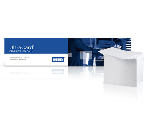 Ultracard CR79 10 mil Adhesive-Backed Blank Cards w Paper Backing (100/pk)