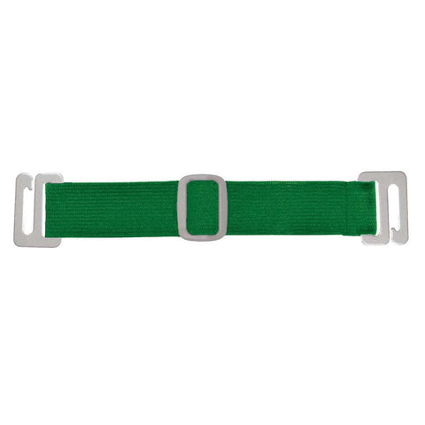 "Interchangable Arm Band For Badge Holder - Green, 6 1/2"" (100/Pack)"