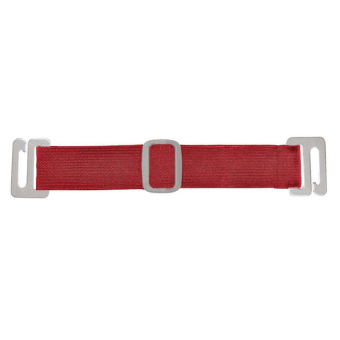 "Interchangable Arm Band For Badge Holder - Red, 6 1/2"" (100/Pack)"