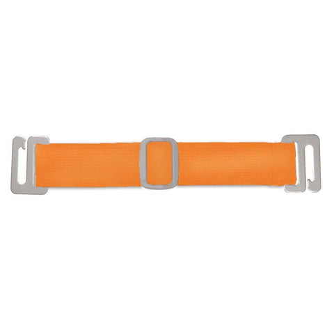 Antimicrobial Interchangable Arm Band For Badge Holder - Neon Orange (100/Pack)
