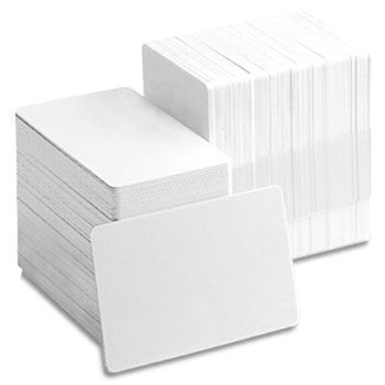 Value PVC CR80 30 mil Blank Cards (500/pk)
