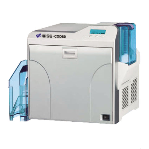 IDP WISE CXD80D Retransfer Card Printer, USB 2.0 & Ethernet