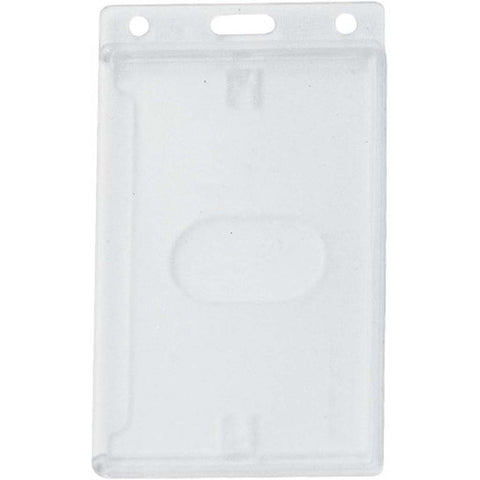 Economy Abs Rigid Card Dispenser, Clear Cr80 Vertical (50/Pk)