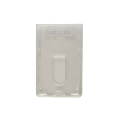 Premium Polycarbonate 2 Card Dispenser, Clear, Cr80 Vertical (50/Pk)