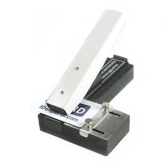 "Stapler-Style Slot Punch W/ Adjustable Guide, Slot Receptacle, Slot Size 1/8"" X 0.550"" (3 X 14Mm), Minimum Order 1 Piece"