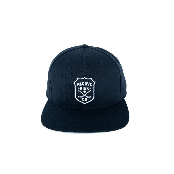 Sheriff's Logo Snapback | Black on Black