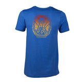 Cali Sunset Tee | Heather Blue