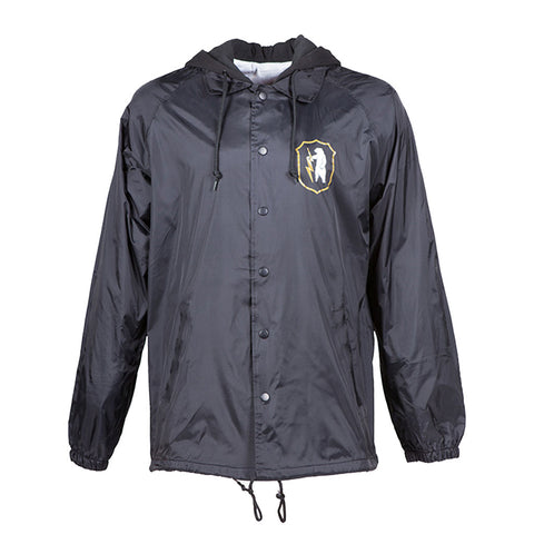 Dawn Patrol Coaches Jacket | Black