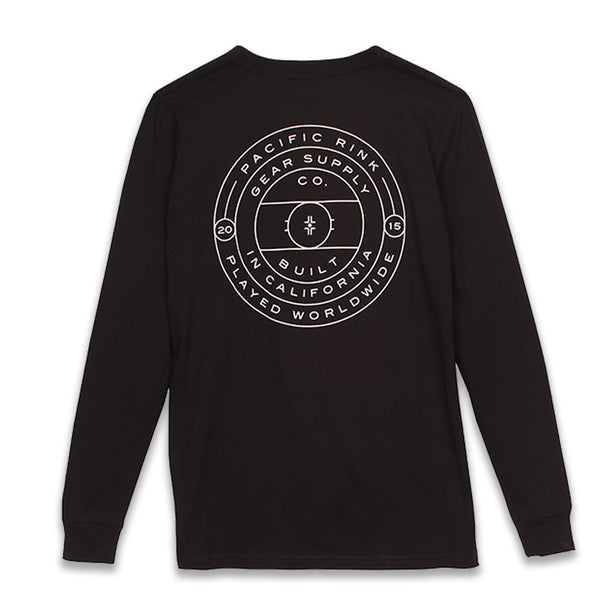 Face-Off L/S Tee | Black