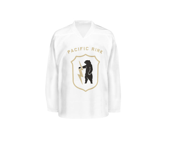 Pacific Rink Jersey Youth // White