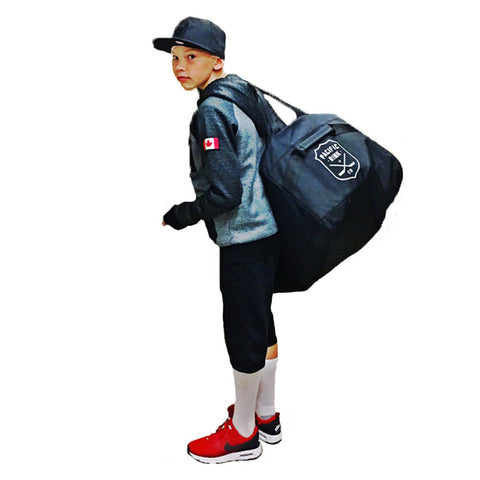 Junior Player Bag | Black & Navy