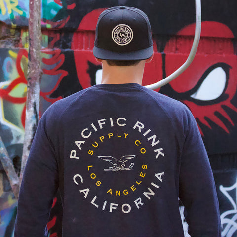 Liberty Crewneck | Navy Heather