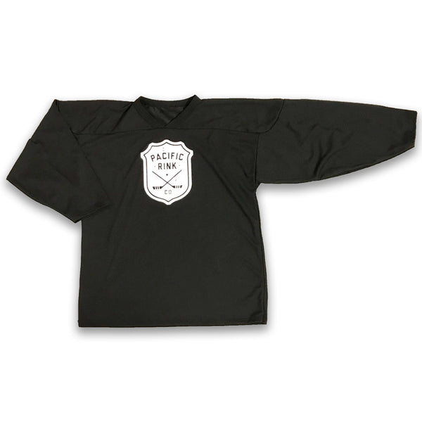 Pacific Rink Practice Jersey Youth | Black