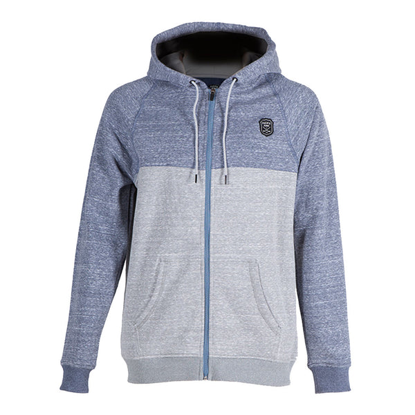 MVP Zip Up | Navy Heather