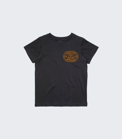 Youth Arena SS Tee | Black