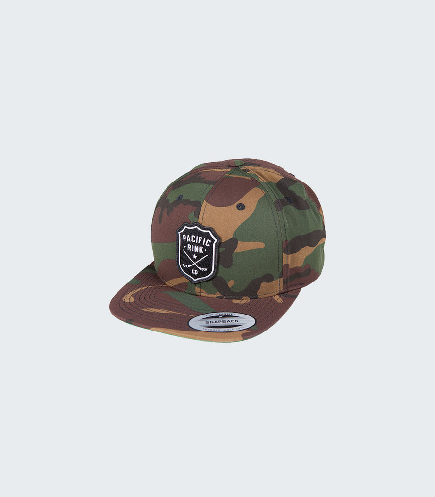 dcc5392dda167 Buy Sheriff s Camo Snapback at Pacific Rink for only   29.99