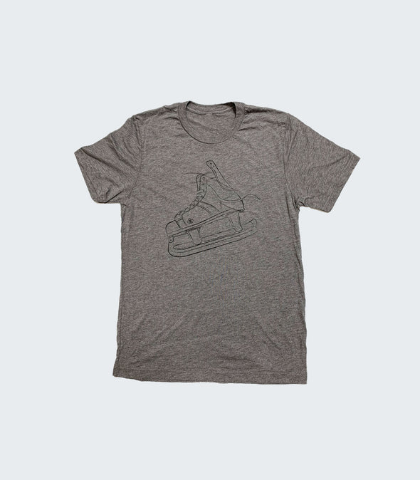 Vintage Steel Tee | Grey Triblend