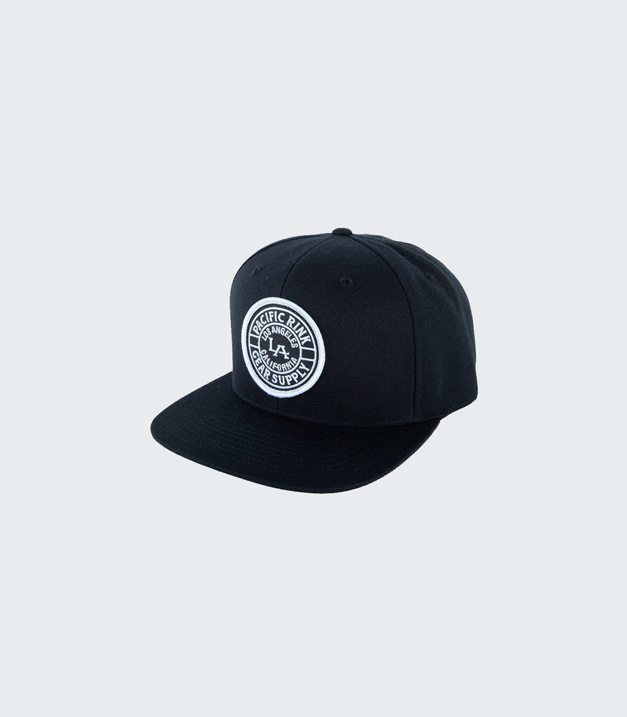 LA Royal Snapback | Black