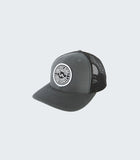 LA Royal Retro Trucker | Charcoal