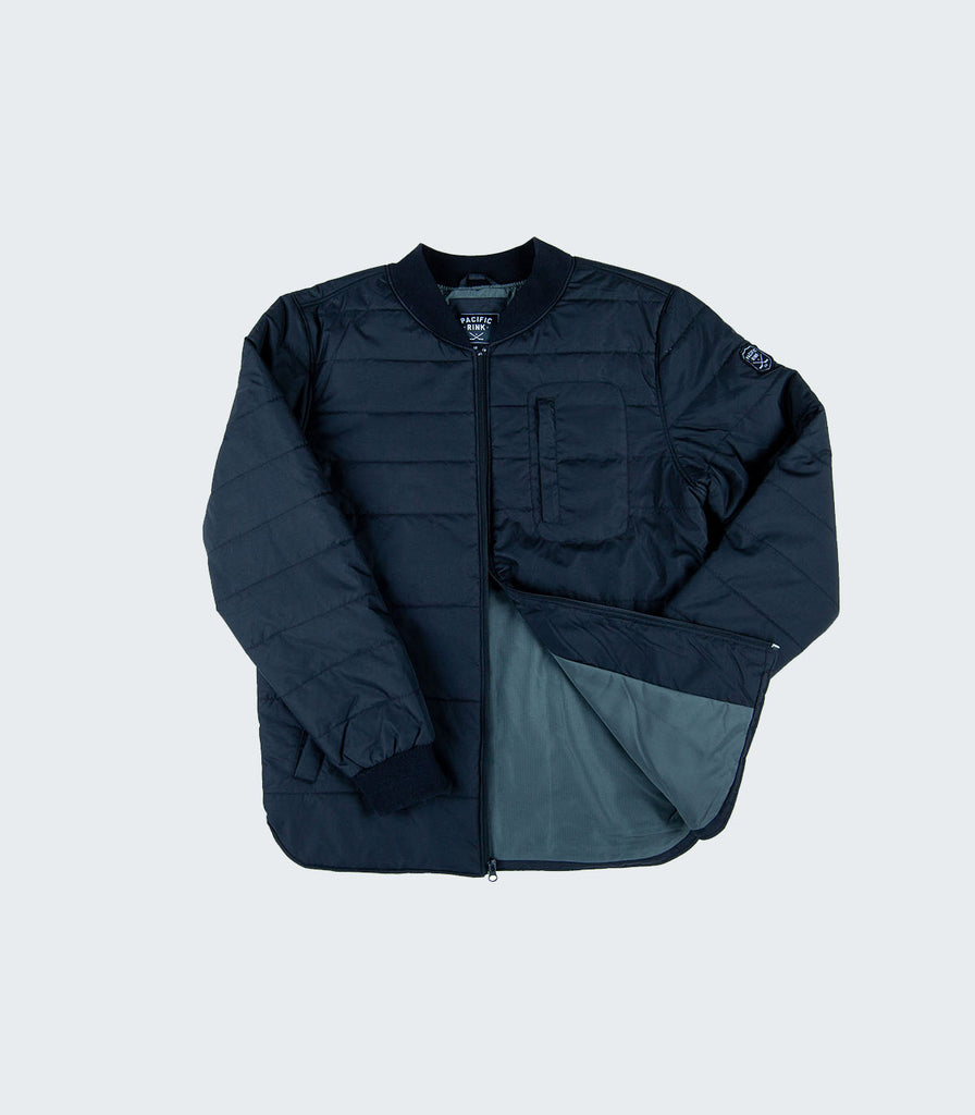 The Luxe Bomber Jacket | Black