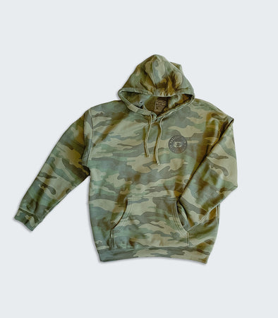 Members Club Camo Sweatshirt
