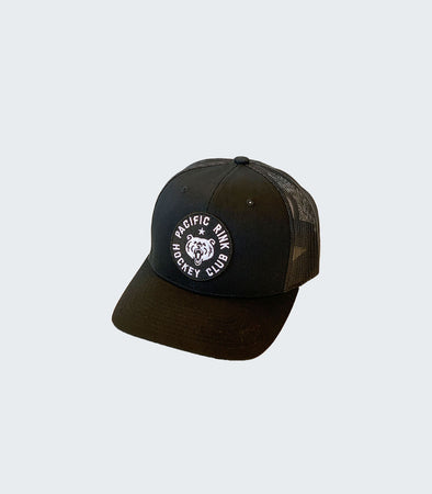 Members Club Retro Trucker | Black