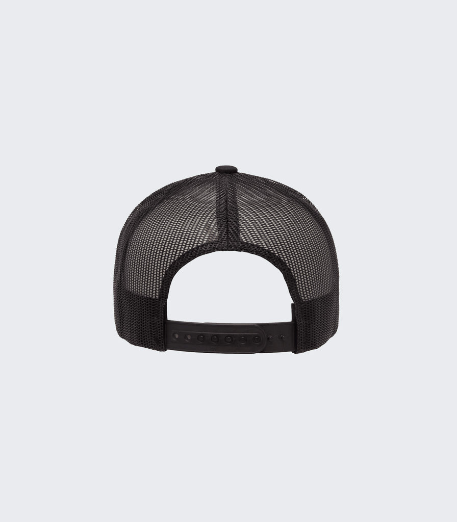 Members Club Retro Trucker | Black (Presale)