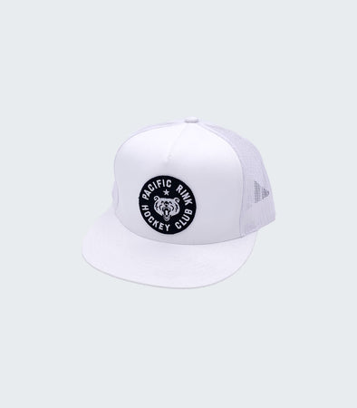 Members Club Trucker | White