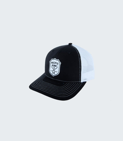 Sheriff's Retro Trucker | Black/White