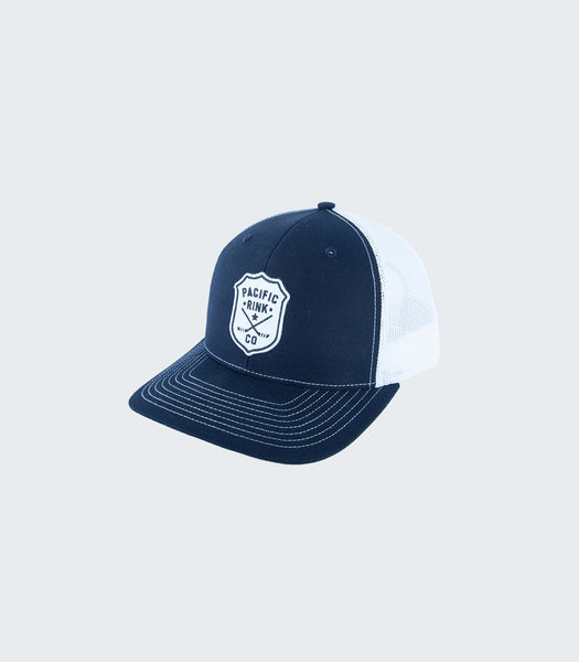 Sheriff's Retro Trucker | Navy/White