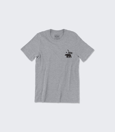 State Seal Tee | Athletic Heather