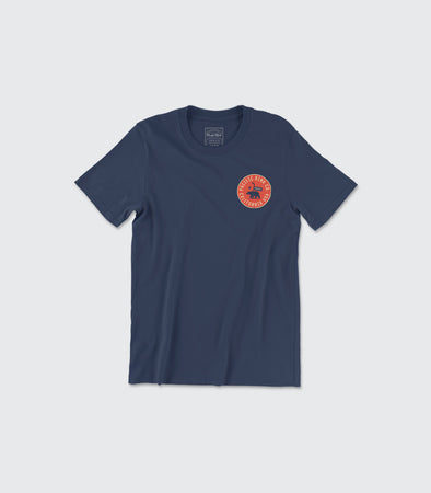 State Seal Tee | Navy