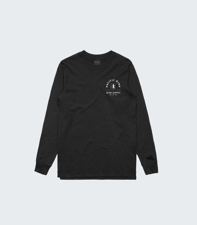 Stronghold L/S Tee | Black