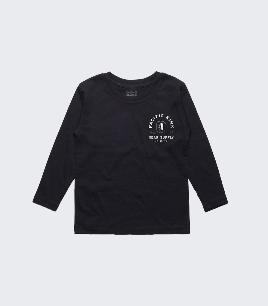 Youth Stronghold LS Tee | Black