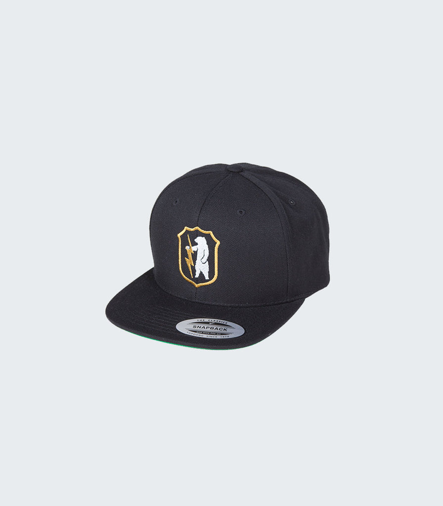 Teddy Thunderbolt Snapback | Black