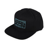 Pacific Sunset Snapback | Black