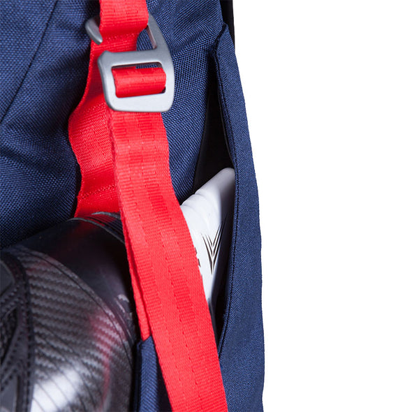 The Ultimate Hockey Backpack Skate Sleeve