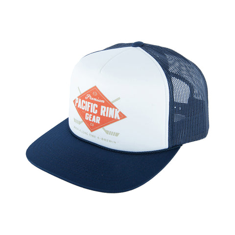 Post Game Premiums Trucker | Navy/White