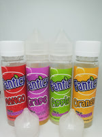 Fanticy E-liquid -  Grape - Orange - Mango - Apple- 50ml Shortfill - 0mg - PKB-Vape