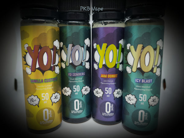 Yo! Eliquid - 50/60 ml Short fill - - PKB-Vape