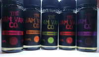 The Jam Vape Company - Strawberry, Raspberry, Blackcurrant Jam, Orange, Lime Marmalade  - 100/120ml Shortfill - 0mg - PKB-Vape