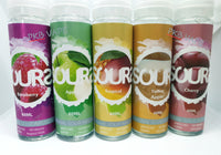 Sours - Apple, Cherry, Mango, Raspberry, Toffee Apple, Tropical - 50ml Shortfill - 0mg - PKB-Vape