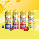 The Custard Company E-liquid - Blueberry Custard - Vanilla Custard - Strawberry Custard - Raspberry Custard - 100/120ml Shortfill - 0mg