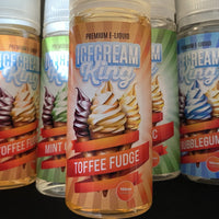 Ice Cream King e liquid - Toffee Fudge